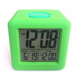 Large Silicone LCD Clock