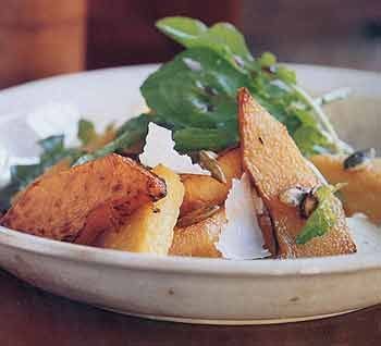 Warm Pumpkin Salad with Polenta and Candied Pumpkin Seeds | foodie ...