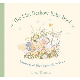 The Elsa Beskow Baby Book. Charming illustrations to record a baby's milestones. $19.95