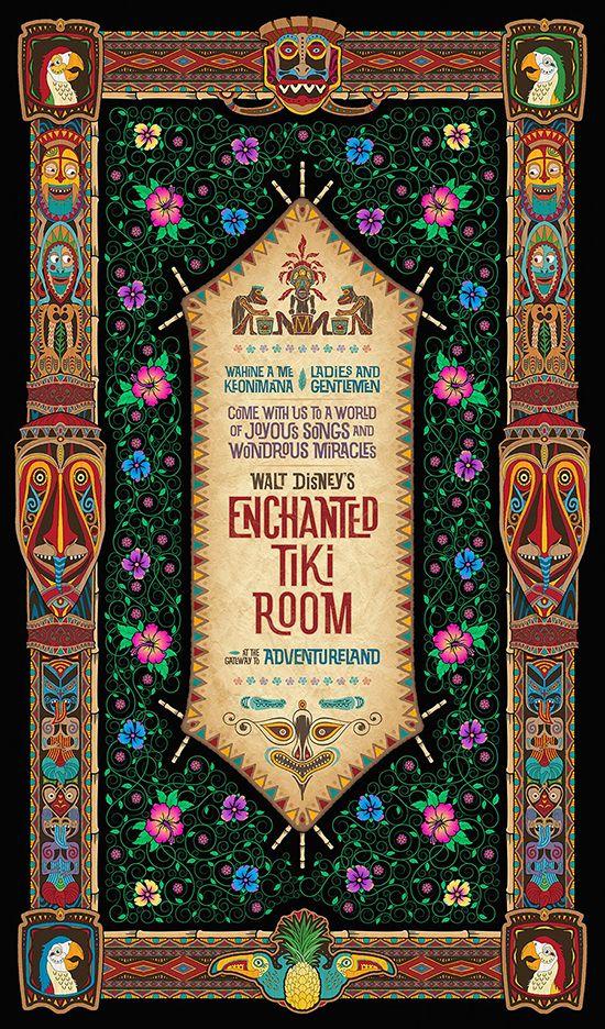 Walt Disney's Enchanted Tiki Room (50th Anniversary), Disneyland (U.S.A.)