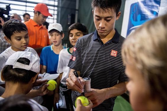 Kei Nishikori Photos - ATP World Tour Media Day - Zimbio