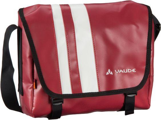 Vaude Bert XS Red (innen: Grau) - Umhängetasche