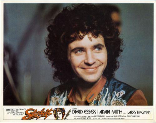 glamidols:  David Essex in Stardust – 1974