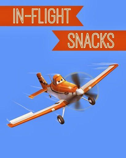 Disney Planes Party Ideas: In-Flight Snacks Sign - Free #Printable #DisneyPlanes