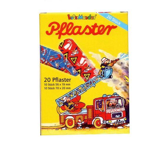 Pflaster Feuerwehr- Kindergeburtstag Feuerwehr Mitgebsel http://www.firlefantastisch.de/epages/15496426.sf/de_DE/?ObjectPath=/Shops/15496426/Products/31898