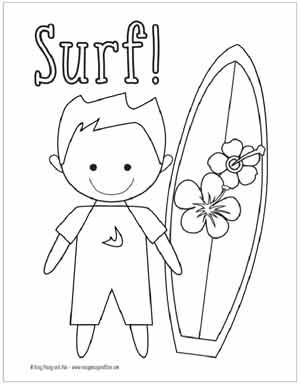 Summer Coloring Pages Free Printable Easy Peasy And Fun Summer Coloring Pages Coloring Pages For Boys Coloring Pages