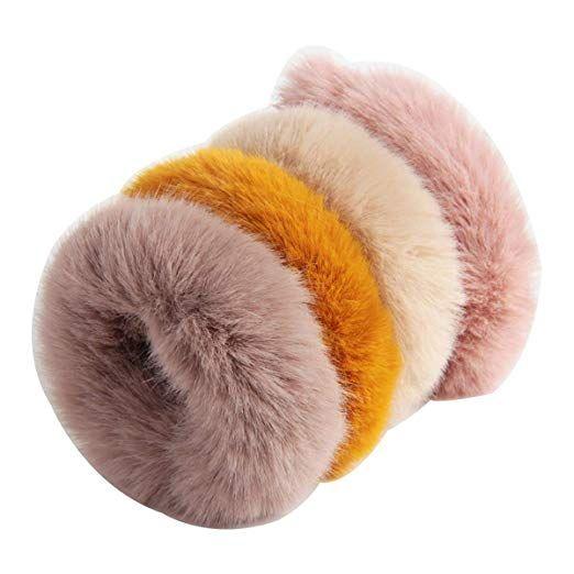 Fluffy Elastic Imitation Rabbit Fur Hair Scrunchies Hair Accessories Hair Bands