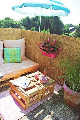 AdamsEva Blog, Balkon Ideen, small balcony