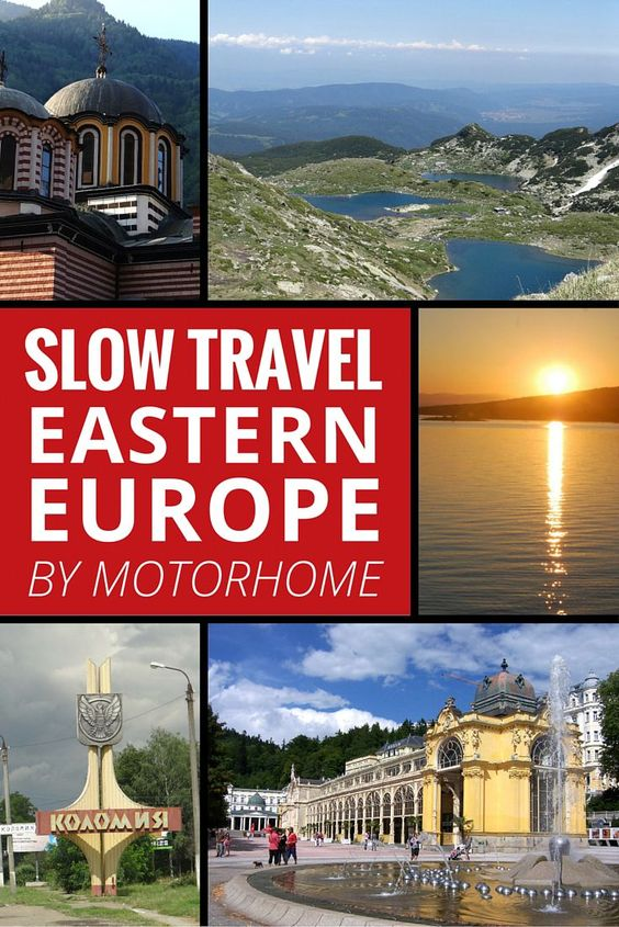 Slow travel Eastern Europe by Motorhome