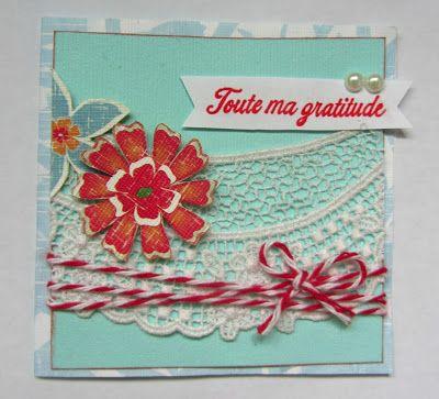 Il mio piccolo antro creativo: Card: Aqua,White,Red