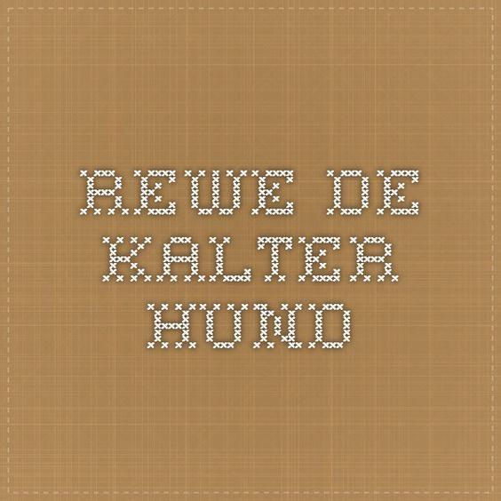 REWE.DE - Kalter Hund