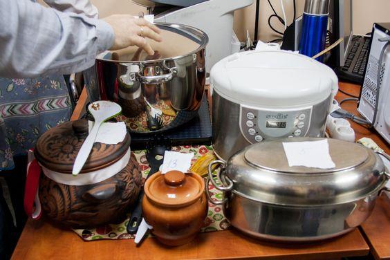 Подготовка к подаче блюд