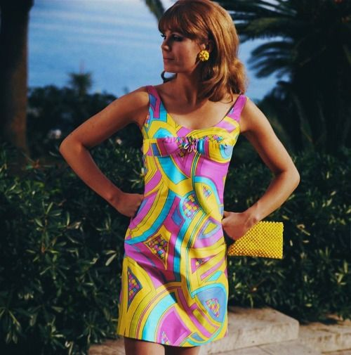 Joanna Lumley Wears A Pucci Style