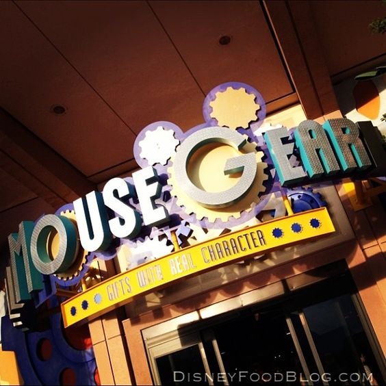Mouse Gear at Epcot in Future World via Disney Food Blog