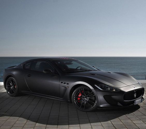 Maserati - murdered out #black