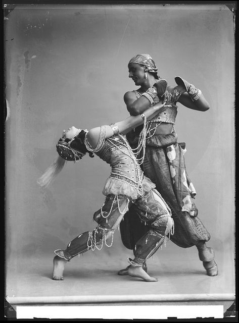 The Ballets Russes 1914 - Michel Fokine and his wife, Vera Fokina