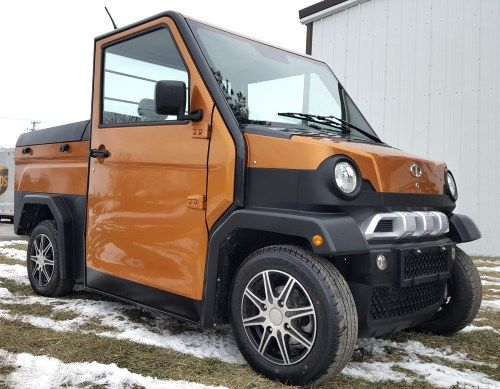 Lsv Two Passenger Electric Truck Low Speed Vehicle Street Legal