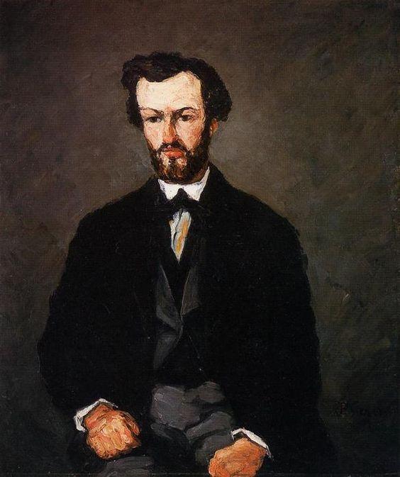 Acheter Tableau 'Portrait de Anthony Valabrègue' de Paul Cezanne - Achat d'une reproduction sur toile peinte à la main , Reproduction peinture, copie de tableau, reproduction d'oeuvres d'art sur toile