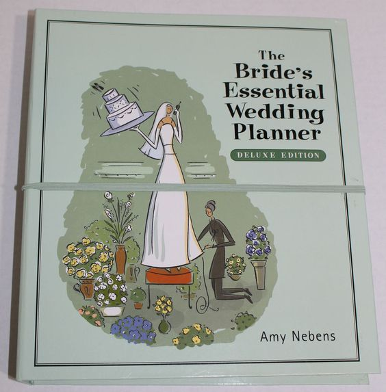 $21.95 The Bride's Essential Wedding Planner Amy Nebens NEW Free Shipping Must Have  #Wedding #Planning #Agenda #FreeShipping