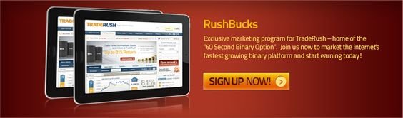 Rushbucks binary options affiliate program
