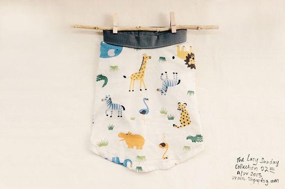 Oh! Basics Shirt / Safari Jungle — The Lazy Sunday Collection