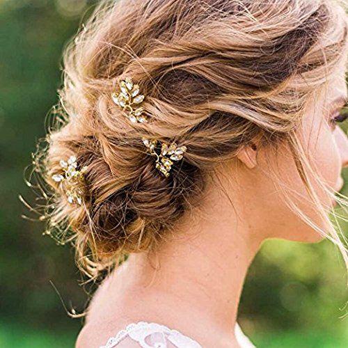 Hochzeit Brautschmuck Haarnadeln Kristallperle Haar Accessoires Verleiht Aufwendigen Hochsteckfrisuren La Frisur Hochzeit Hochzeit Haarnadeln Abendfrisuren