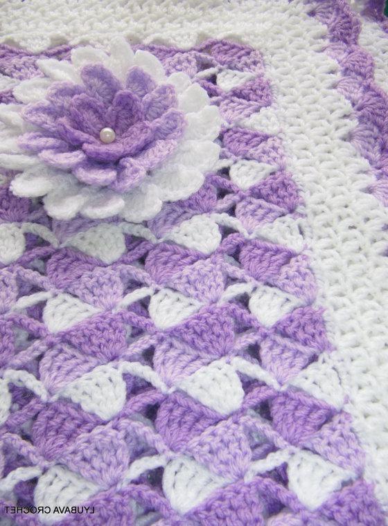 Crochet Stitches Beginners Blankets : ... crochet hobby crochet crafts unisex crochet baby blanket blankets