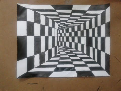 Very Easy 3d Trick Art How To Draw A Round Hole On Paper Youtube Optical Illusion Drawing Easy 3d Drawing Illusion Drawings