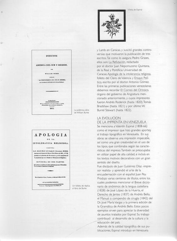 (9) Viñeta de Espinal / La polémica obra de William Burke / Un folleto de réplica al libro de Burke