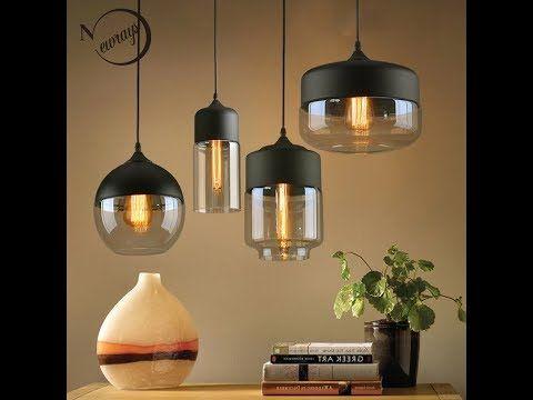 Battery Powered Hanging Led Lights Youtube Glass Pendant Lamp Modern Glass Pendant Light Glass Pendant Light