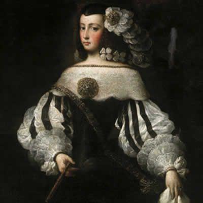 ca. 1677 Felice de la Cerda y Aragón, Marquesa de Priego from fundacionmedinaceli.org: