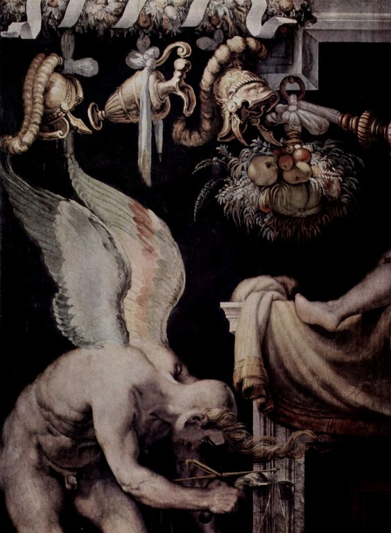 """Kairos"" de Francesco Salviati."