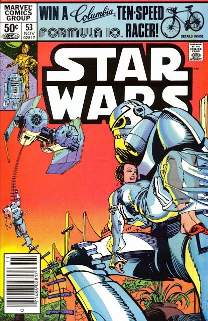 Marvel Comics of the 1980s: 1981 - Anatomy of a Cover - Star Wars #53 by Walt Simonson