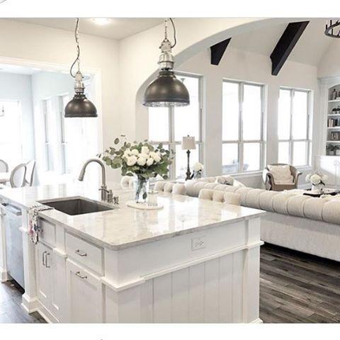 White Kitchens Pinterest - Home Safe