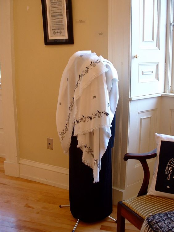 Reversible Shawl ,Hand Embroidery