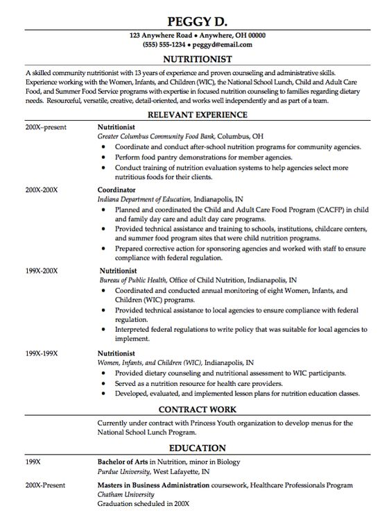 Double Major Economics Resume Sample - http\/\/resumesdesign - child care resumes