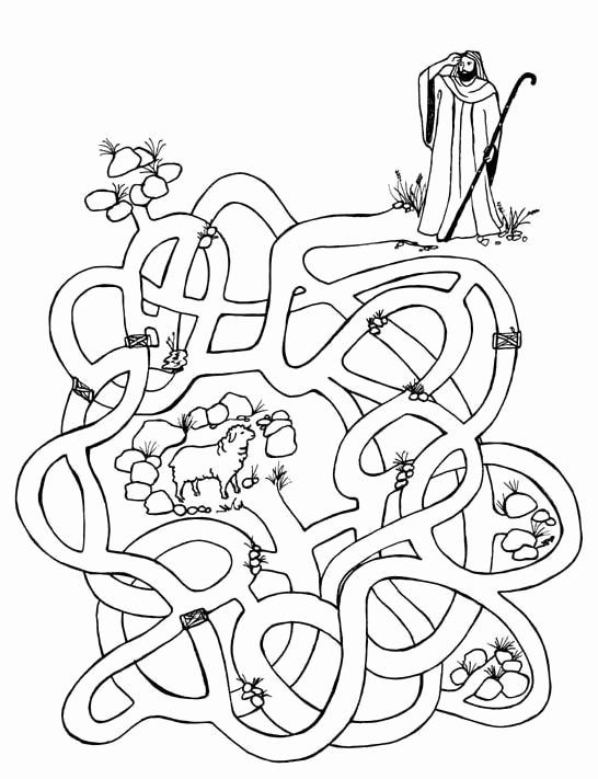 Lost Sheep Coloring Page Awesome The Good Shepherd Lost Sheep
