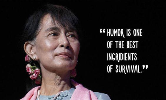 Aung San Suu Kyi | Bored Panda
