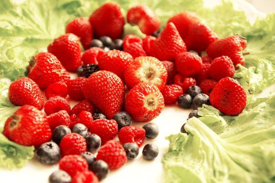 Fruits berries strawberry