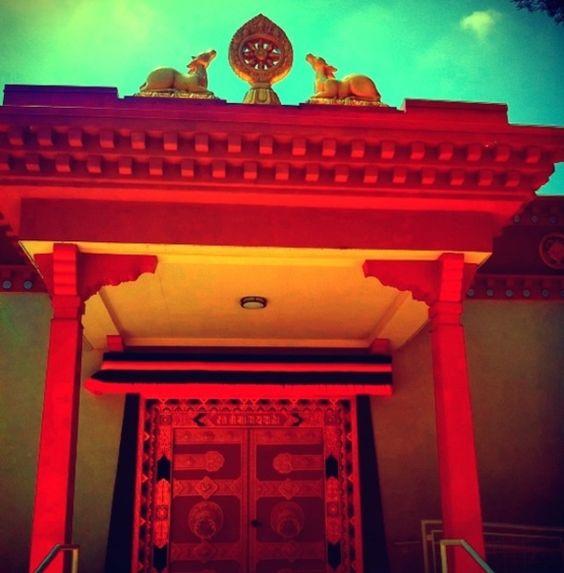 Drepung Loseling Tibetan Buddhist monastery #Atlanta