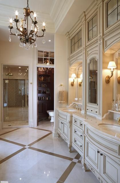Beautiful Bathroom Elegant Design Decor Via Christina Khandan On Irvinehomeblog Irvine