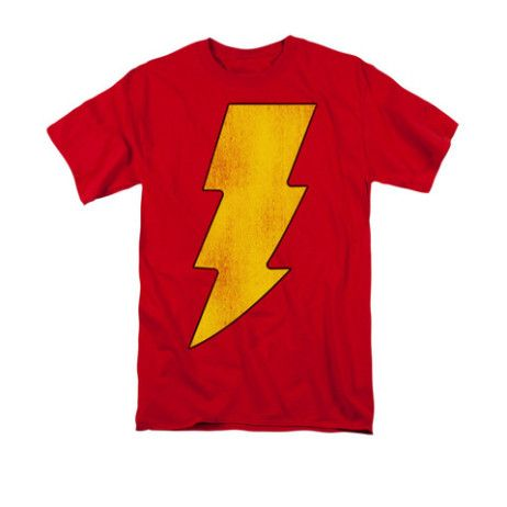 #DC Comics: Captain Marvel logo t-shirt.