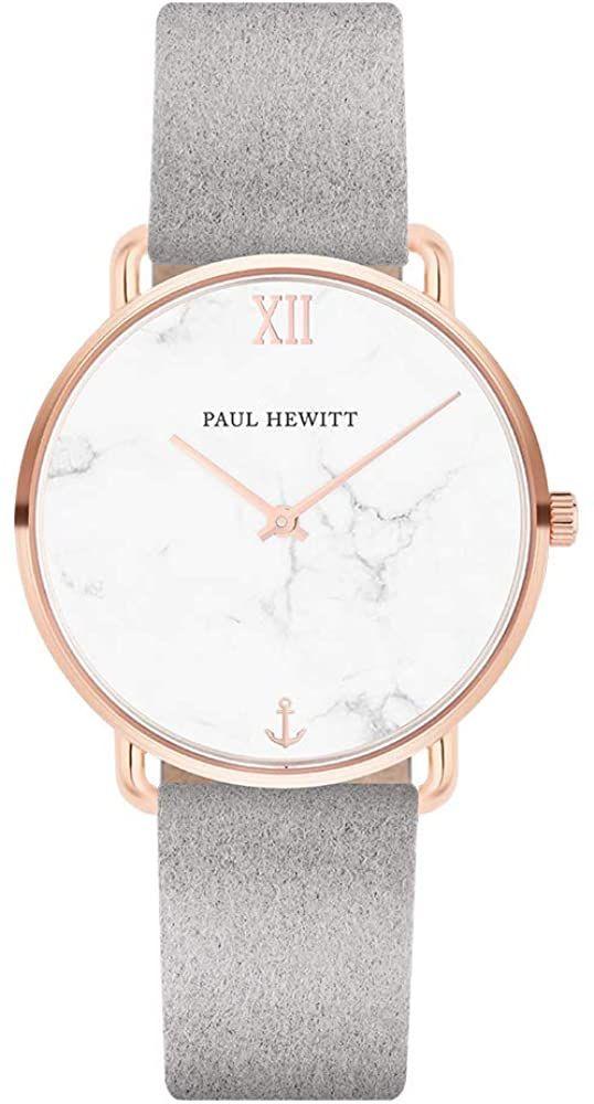 Paul Hewitt Armbanduhr Damen Miss Ocean Marble Damen Uhr Rosegold Damenuhr Mit Stoffarmband Grau Ziffernblatt Im Mar In 2020 Armbanduhr Damen Quarzuhr Armbanduhr
