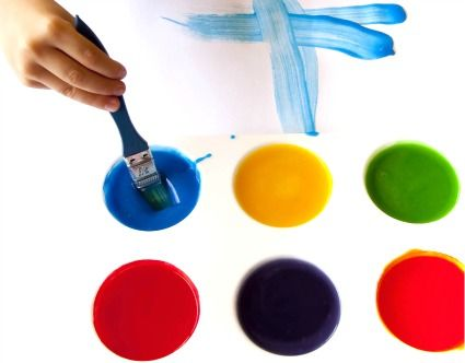 easy homemade paint recipe for kids crafts how to make. Black Bedroom Furniture Sets. Home Design Ideas