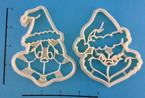 How the Grinch Stole Christmas cookie cutter set by WarpZone, $15.00