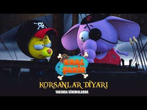 Kral Sakir Korsanlar Diyari Tanitim Youtube Sinema Kral Cartoon Network