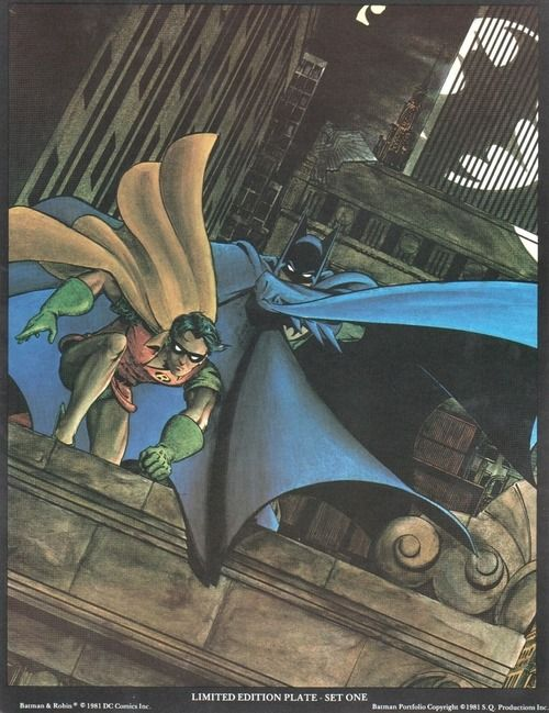Marshall Rogers ~ the Batman Portfolio