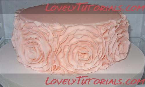 how to make ruffle roses on wedding cake ruffle roses wedding cake tutorial 3 d cake and 15987