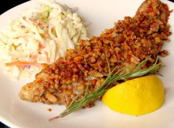 Low Carb Pecan Baked Catfish | 11 Flavorful Catfish Recipes That Are Anything But Basic | Extraordinary Recipes That Won't Disappoint You