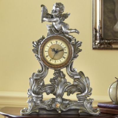 Renaissance Flourish Clock Beautiful Interiors Pinterest Clock